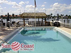 Bimini View Community Pool and Canal
